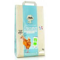 Plume & Compagnie Vermicelles Bio pour poulet / poulette croissance 4 kg
