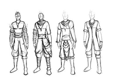 Max's Blog: Character Design: Hero