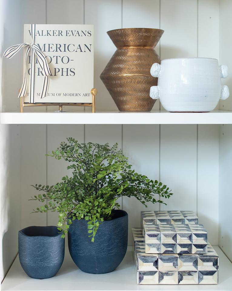 2019 home decor design trend, matte finishes, McGee & Co plant pot