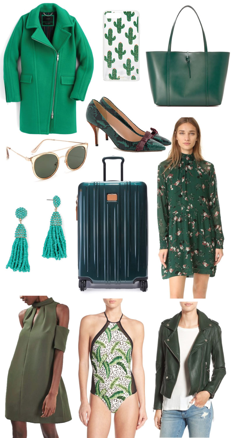 Pantone color of the year, greenery, how to wear greenery, blogger, how to wear the 2017 pantone color of the year
