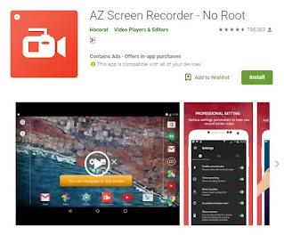 Rekomendasi, 3, Aplikasi, Perekam, Layar, Untuk, Android, Terbaik, Tanpa, Root, hp, ponsel, software, gratis, download,