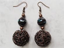 Polymer clay earrings by WindySunset