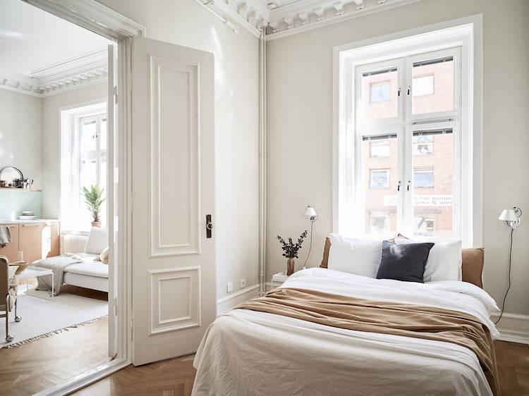 Interior crush scandinavisch appartement in neutrale kleuren