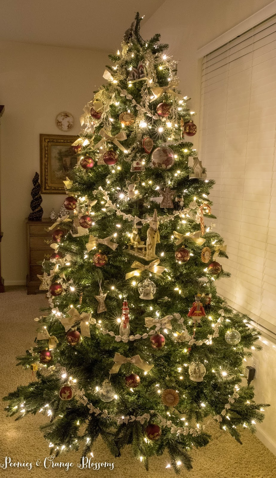 Traditional classic vintage tree
