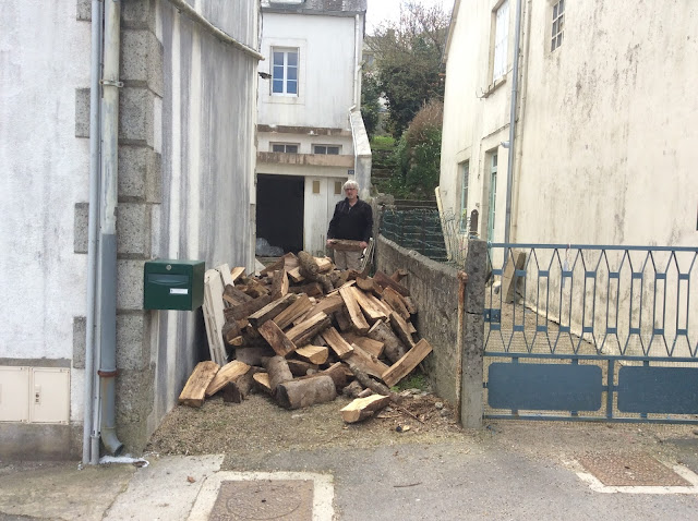 wood delivery in France