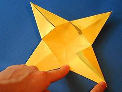 manualidades Estrella navidad 8 puntas