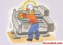 An toàn lao động khi sửa chữa máy