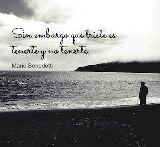 triste frase de amor bonita