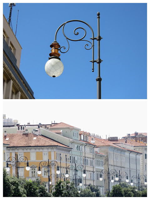 What to see in Trieste: lampposts