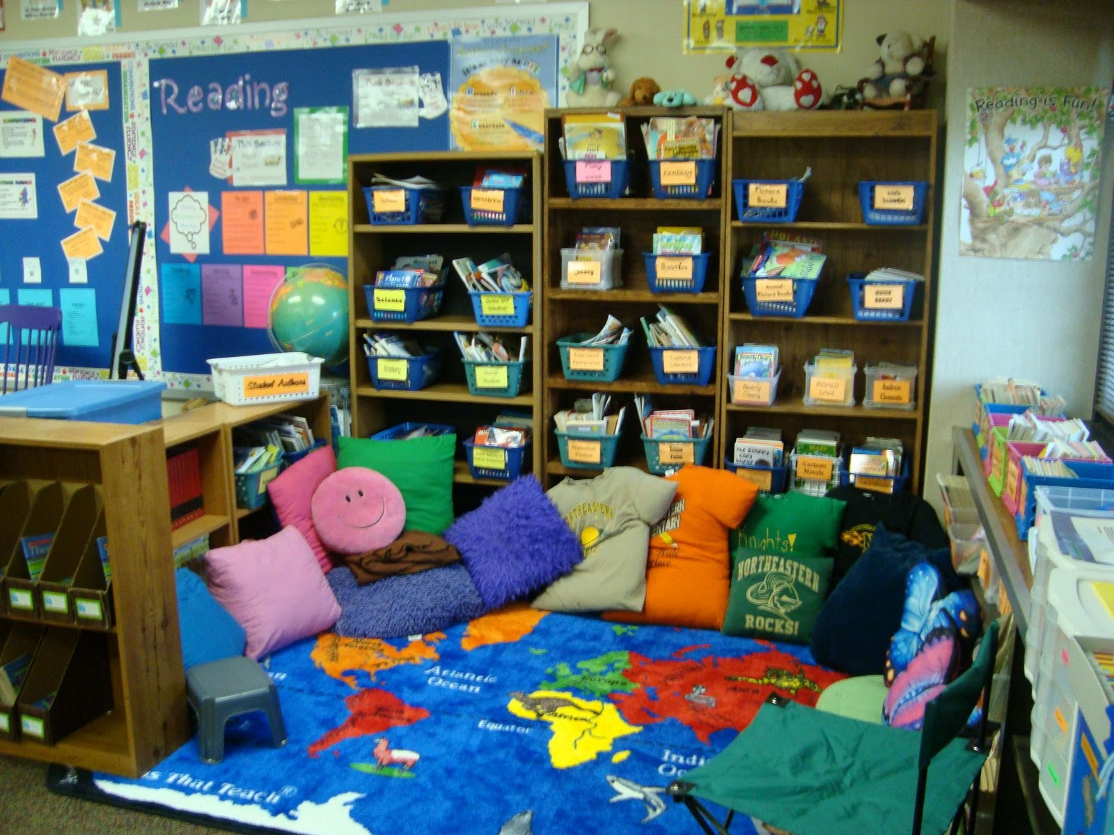 Classroom Library Decorating Ideas