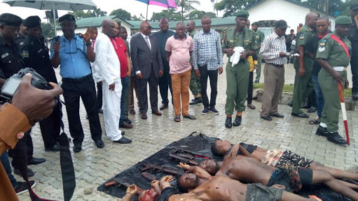 4 Notorious Kidnappers Terrorizing Rivers State Shot Dead