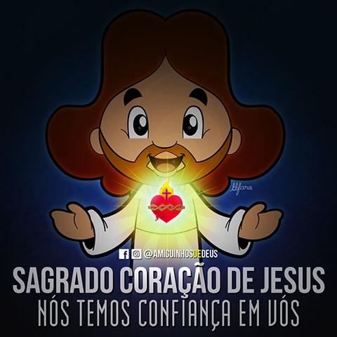 sagrado coração de jesus desenho
