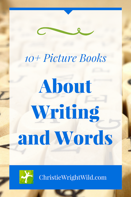 PICTURE BOOKS ABOUT WRITING AND STORYTELLING || children's book lists that teach about writing | books that teach kids how to write