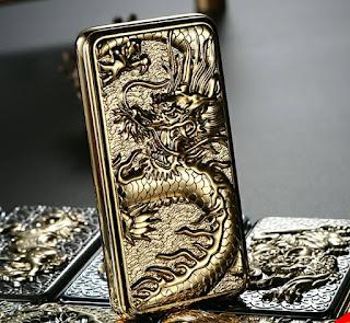 Bật lửa điện - Mã sp : B02 Rồng vàng