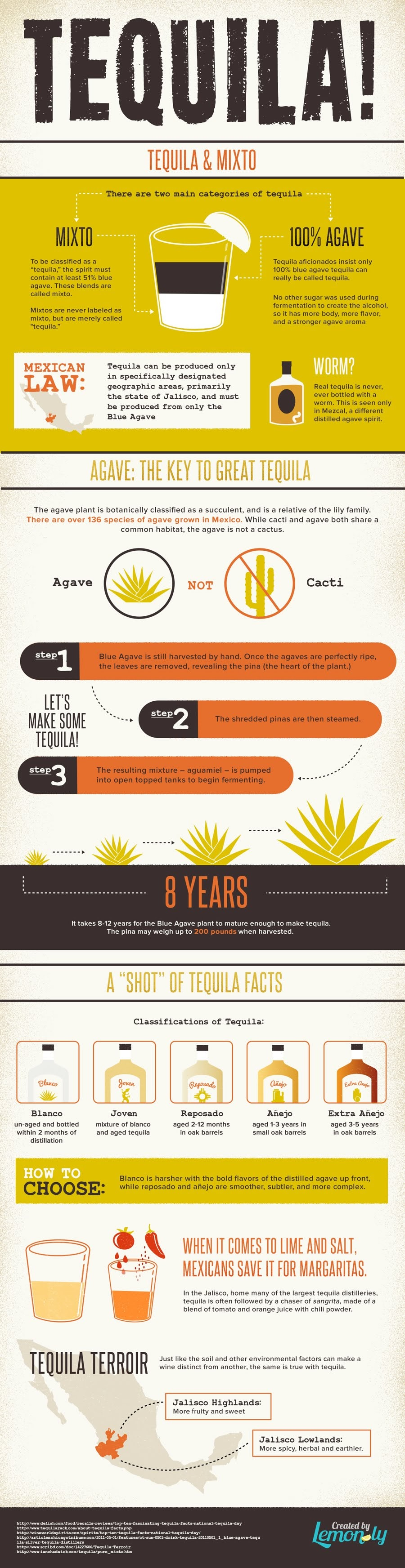 Tequila!: All About Tequila #infographic