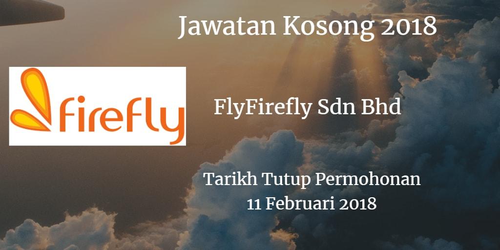 Jawatan Kosong FlyFirefly Sdn Bhd 11 Februari 2018