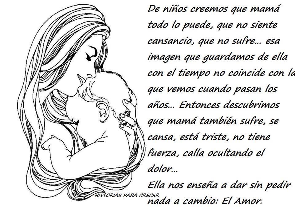 La madre, ese amor  que todo lo puede...