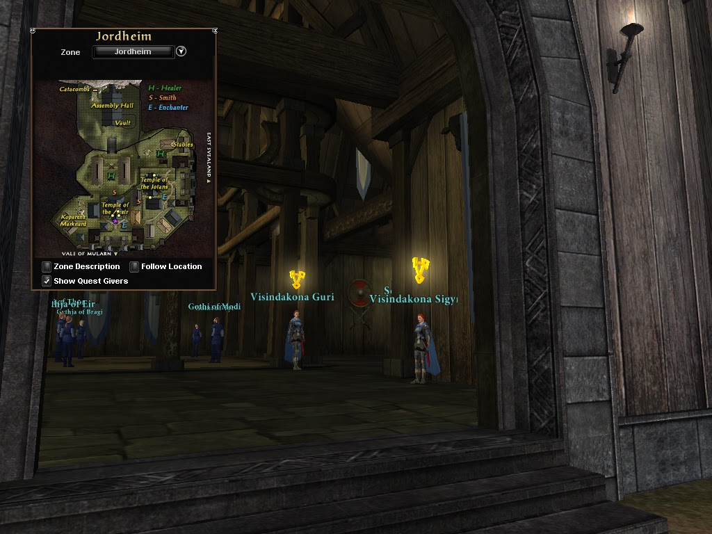 The level 50 Champion Quest Line Part One: Emissary