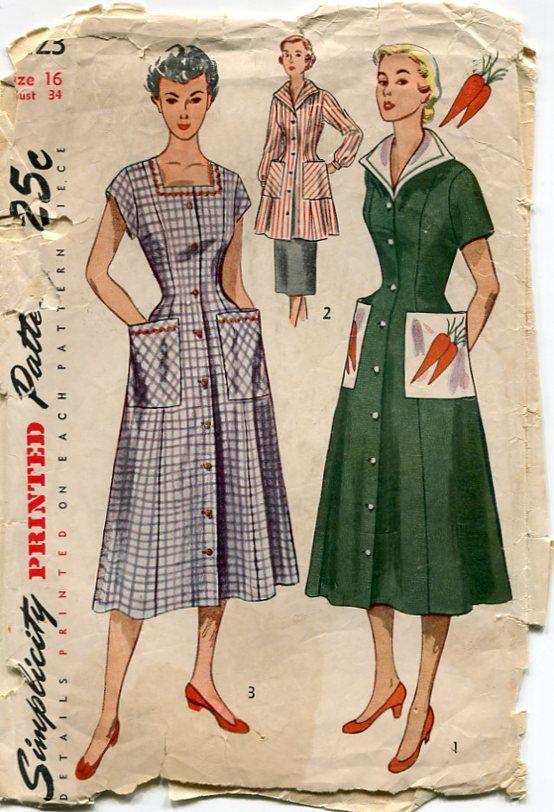 Damn Good Vintage New Patterns At Sew Retro Vintage Patterns