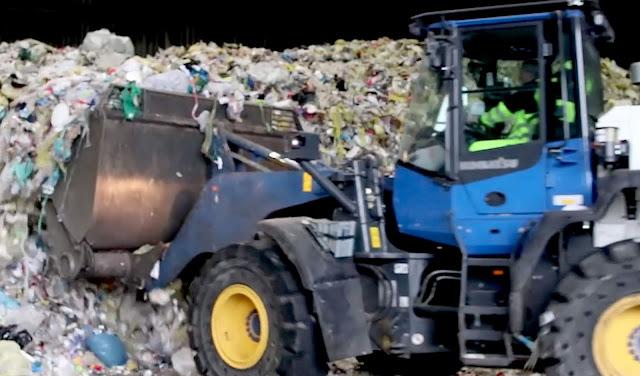 Plastikmüll Handel in aller Welt