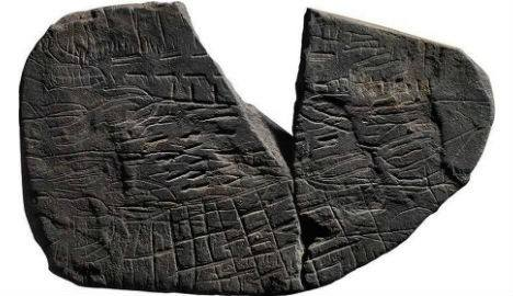 5,000 year old map unearthed on Danish island