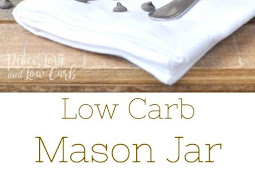 Low Carb Chocolate Mason Jar Ice Cream Recipe