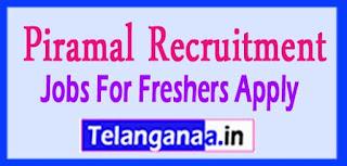 Piramal Recruitment 2017 Jobs For Freshers Apply