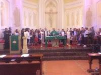 Messe à Valmaria avec la CCF de Bogota