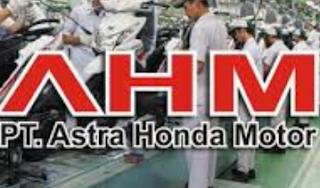 Lowongan Kerja PT Astra Honda Motor, November 2016