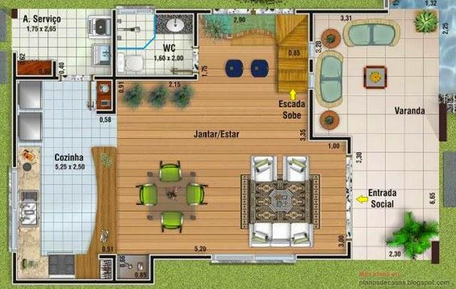 Plano de casa de 156 m2 planos de casas gratis y for Planos para remodelar mi casa