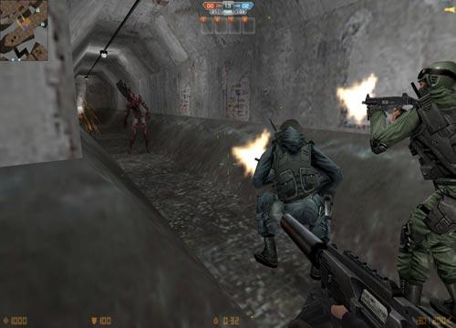 تحميل لعبة كاونتر سترايك الزومبي Counter Strike Nexon Zombies اون لاين