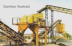 Stone Crusher Shan Bao Kapasitas 40-60 Ton/Jam