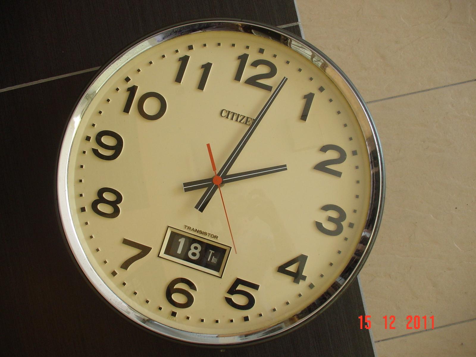 Lan Jamkoleksi 43 Citizen Transistor Wall Clock