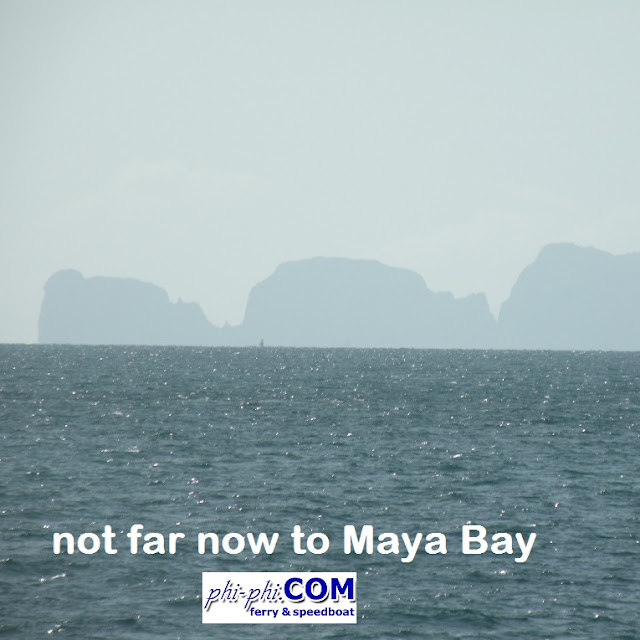 not far now to Maya Bay
