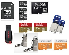 Flat 30% Extra Discount on Memory Devices (Pen Drive, Memory Cards) @ Nearbuy