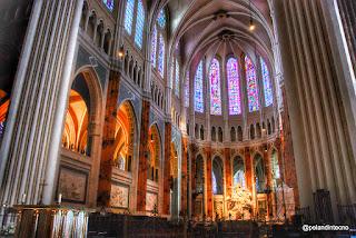 Vidrieras de la Catedral de Chartres, Francia