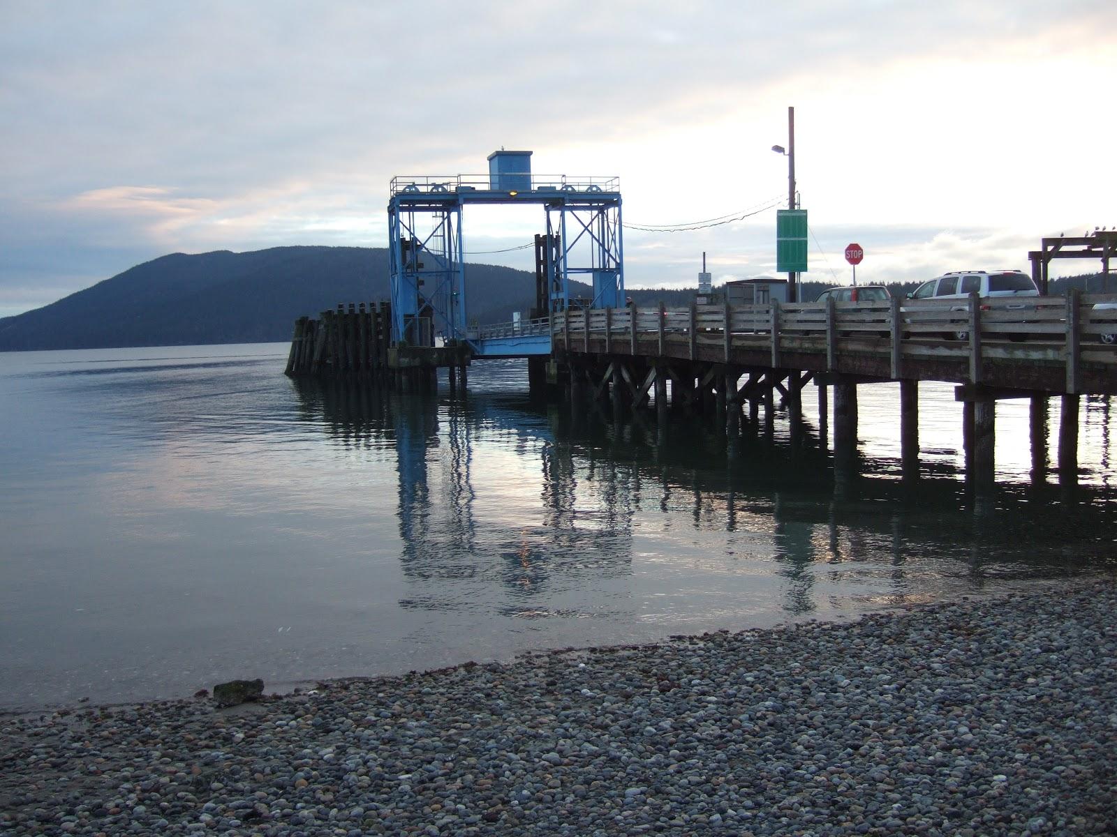 Lummi Island Ferry Car