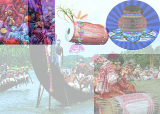 Harvest festivals are those festivals which are celebrated at the time of harvesting the crops. Some important harvest festivals are – Holi, Baisakhi, Onam and Pongal.