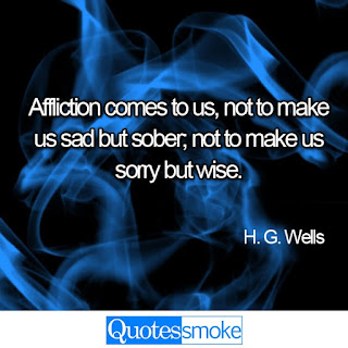 H G Wells Sad Quote