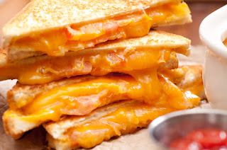 Creamy cheese Grill Sandwich