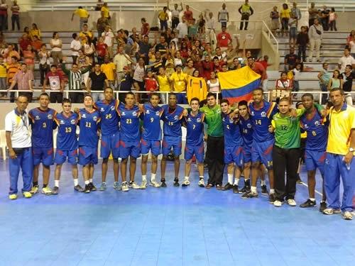 Colombia campeón masculino IHF Trophy sudamérica | Mundo handball