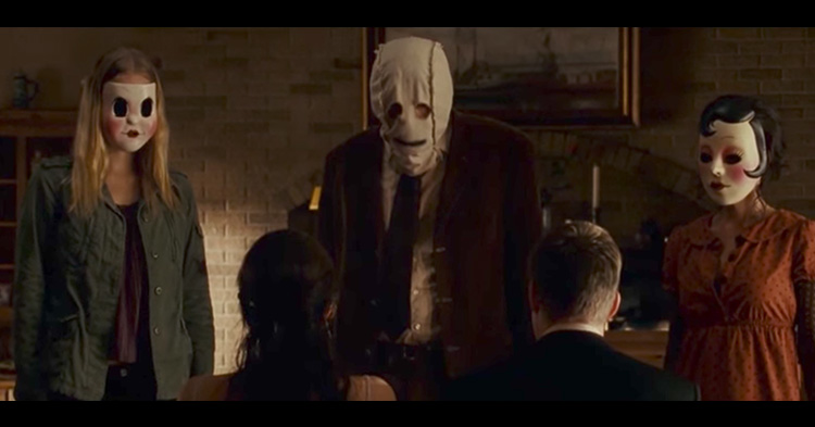 Screencap from the terrifying movie, The Strangers