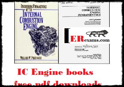 IC Engine books free pdf downloads