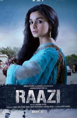 raazi movie box office collection report