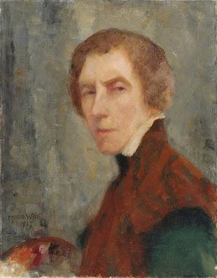 Autoportrait (1917), Maria Wiik
