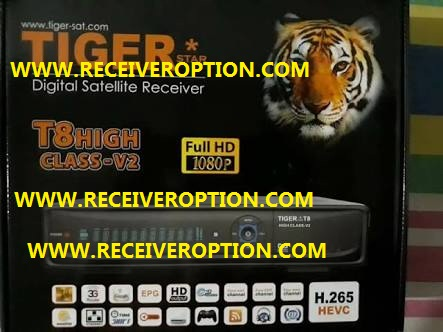 TIGER T8 HIGH CLASS-V2 HD RECEIVER POWERVU KEY NEW SOFTWARE - HOW TO