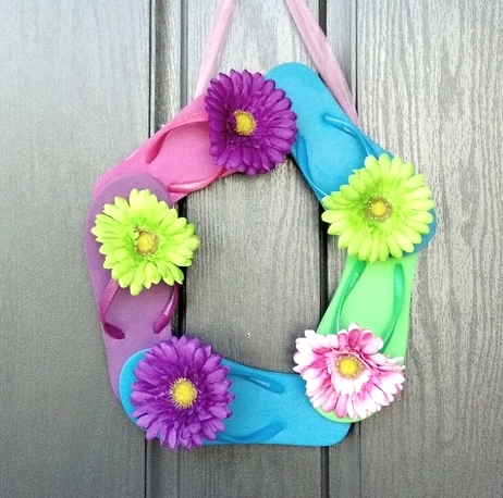 9 Fun Flip Flop Decorations And Crafts For Your Home Coastal Decor