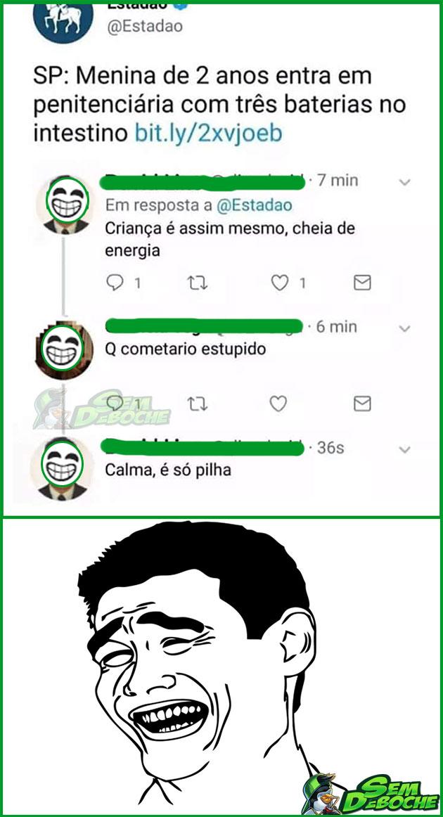 DA SÉRIE: O MELHOR SÃO OS COMENTÁRIOS #05