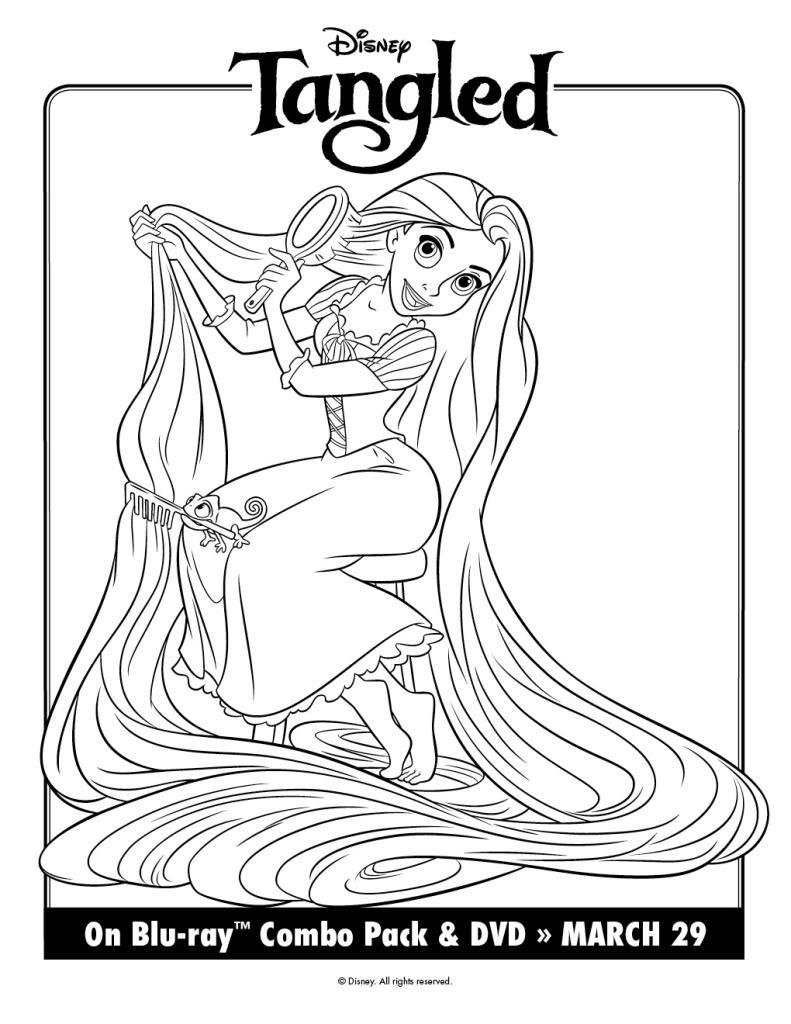 zatch bell coloring pages | Desenho da Rapunzel Para Colorir ~ Imagens Para Colorir