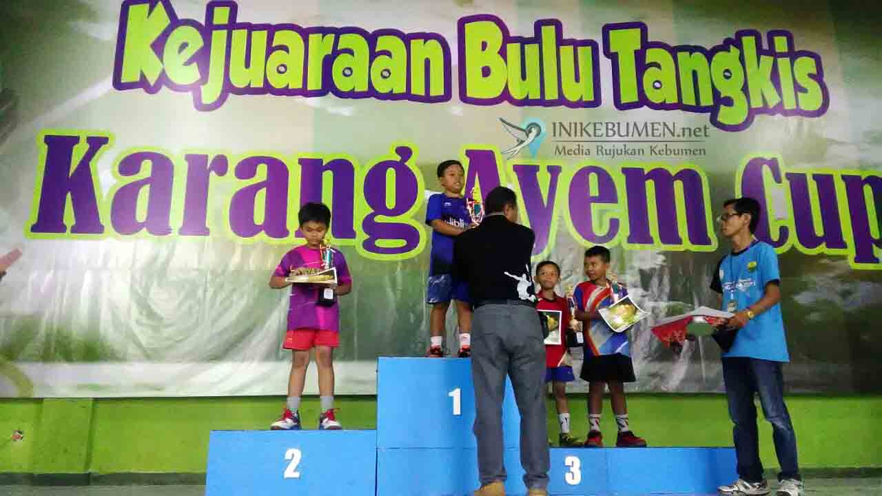 Unggul, Pebulutangkis Junior Kebumen Sabet Juara I Tingkat eks Karesidenan Kedu